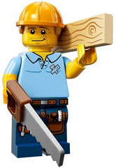 Lego Series 13 Carpenter minifigure