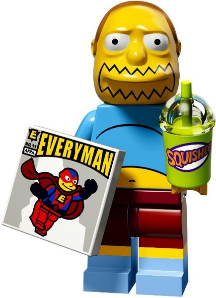 Lego Series 2 Simpsons 71009: Comic Book Guy minifigure