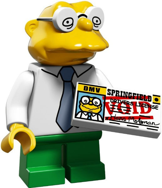 Lego Series 2 Simpsons 71009: Hans Moleman minifigure
