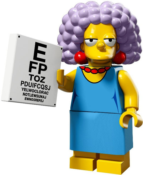 Lego Series 2 Simpsons 71009: Selma minifigure