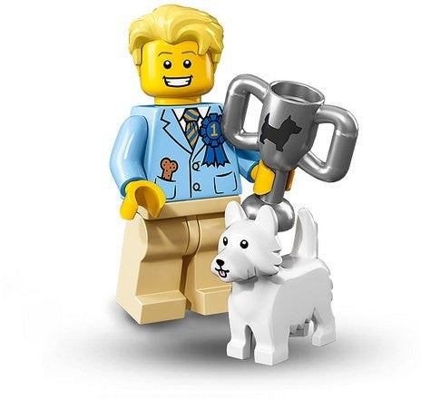 Lego Series 16 71013: Dog Show Winner minifigure