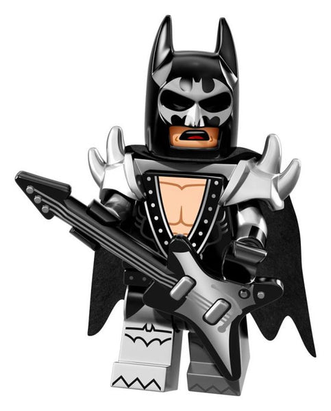 Lego Batman Movie Series 71017-2: Glam Metal Batman
