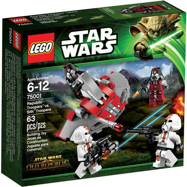 LEGO Star Wars Set #75001 Republic Troopers vs. Sith Troopers
