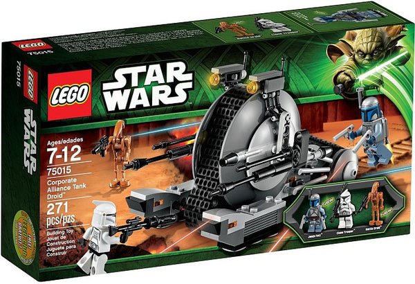 LEGO Star Wars Set #75015 Corporate Alliance Tank Droid