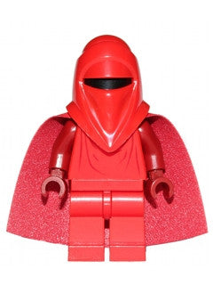 Royal Guard with Dark Red Arms and Hands - 75034