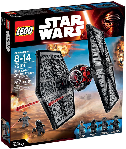 Lego Star Wars Set #75101: First Order Special Forces TIE Fighter