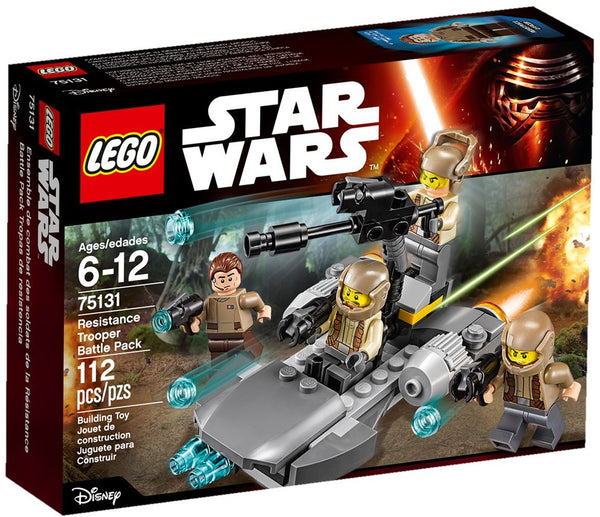 Lego Star Wars 75131: Resistance Trooper Battle Pack