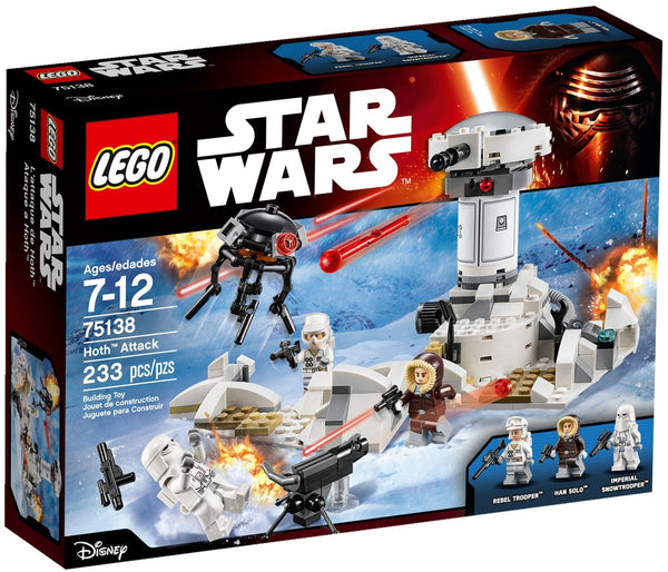 Lego Star Wars Set #75138: Hoth Attack