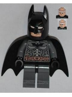 Lego Used Batman - Dark Bluish Gray Suit with Copper Belt 76001