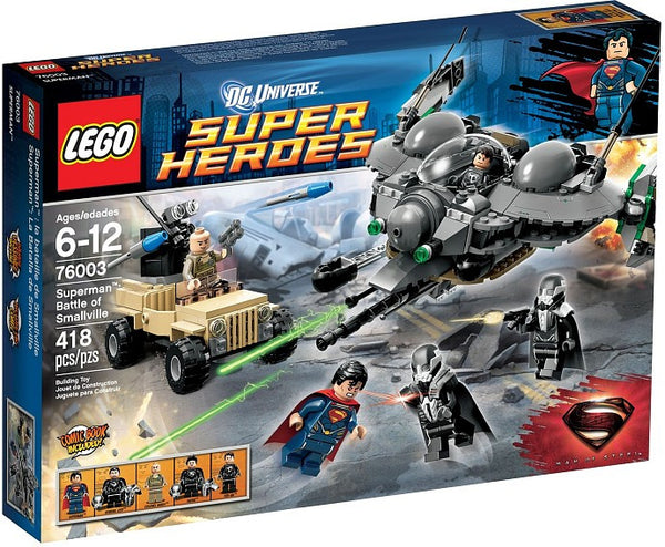 LEGO DC Super Heroes Set #76003 Superman: Battle of Smallville