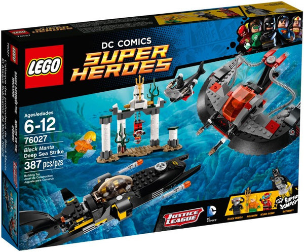 Lego DC Super Heroes 76027: Black Manta Deep Sea Strike