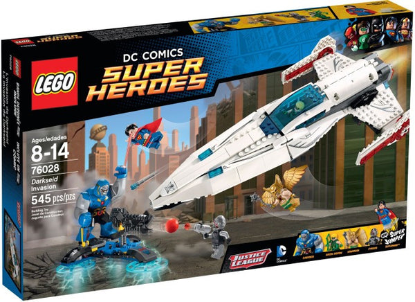Lego DC Super Heroes Set #76028: Darkseid Invasion