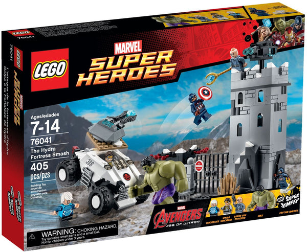 Lego Super Heroes Marverl 76041: The Hydra Fortress Smash
