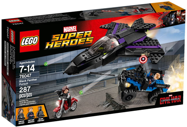 Lego Super Heroes Mavel Civil War 76047: Black Panther Pursuit