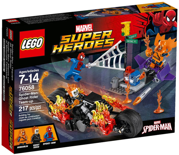 LEGO Super Heroes Marvel 76058: Spider-Man: Ghost Rider Team-Up