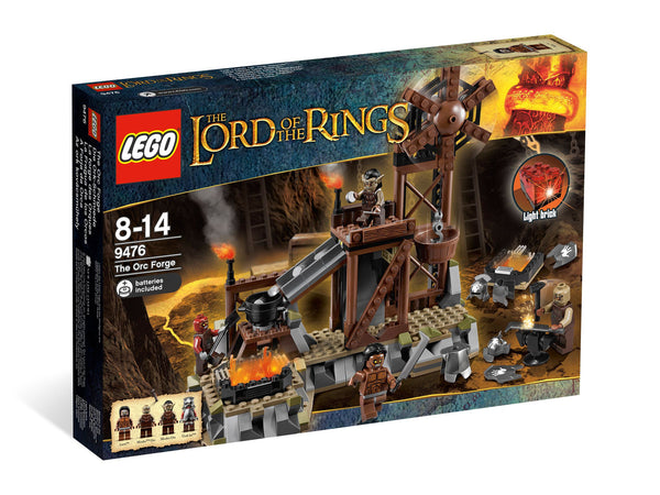 LEGO Lord of the Rings Set #9476 Orc Forge