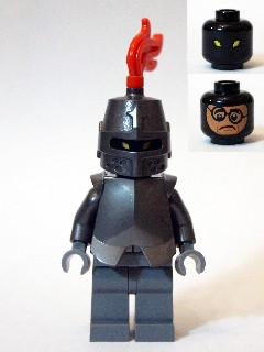 Lego Scooby-Doo 75904-1: Mystery Mansion Black Knight / Mr. Wickles minifigure