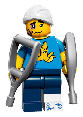 Lego Series 15 71011:  Clumsy Guy