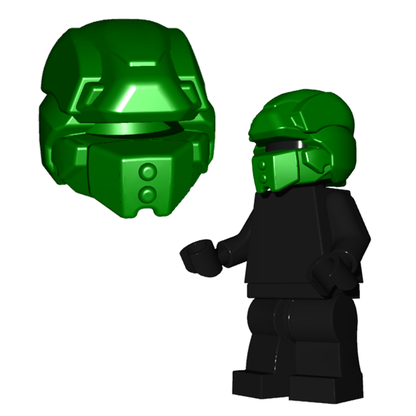 Brick Warriors Sci-fi Galaxy Enfocer Helmet