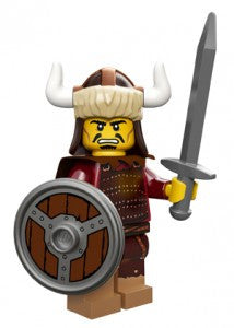 Lego Series 12 Hun Warrior figure
