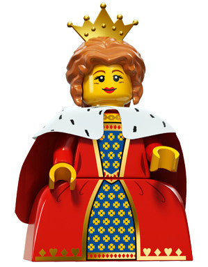 Lego Series 15 71011:  Queen