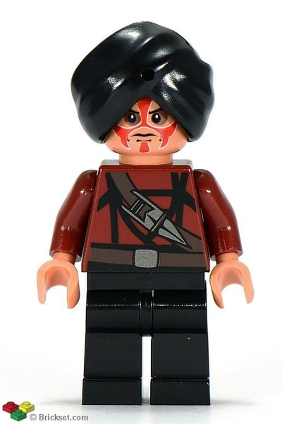 Lego Indiana Jones Temple Guard 1 figure