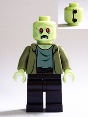Lego Scooby-Doo 75902 The Mystery Machine Zombie Minifigure