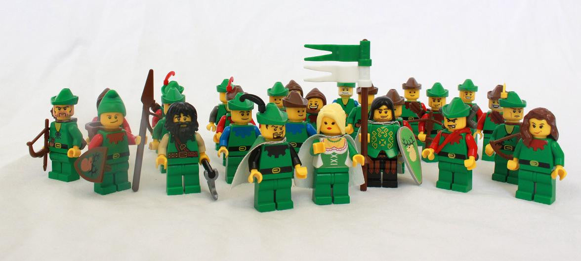 Lego Castle Forestman Various Used Figure Bricks