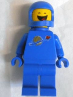 Lego Movie Benny Closed Eyes 70818 New figure