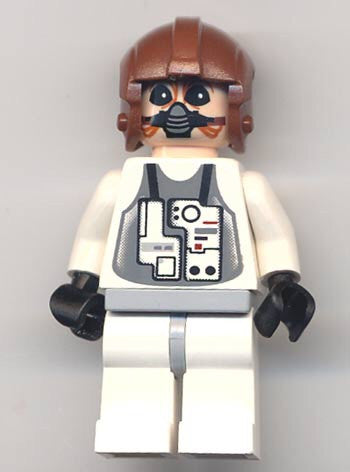 Lego Star Wars Ten Numb figure 6208