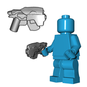 Brick Warriors Sci-fi Head Hunter Pistol