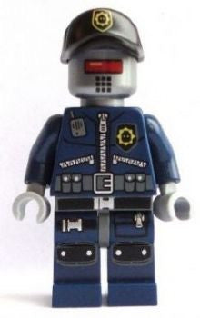 Lego Movie Robo Swat cop 70801 new figure