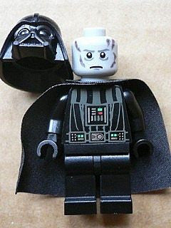 Lego Star Wars Darth Vader white pupils 7965 10212 10221 figure