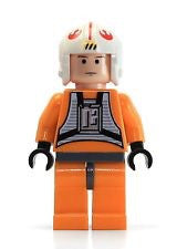 Lego Star Wars Luke Skywalker pilot figure  flesh/yellow