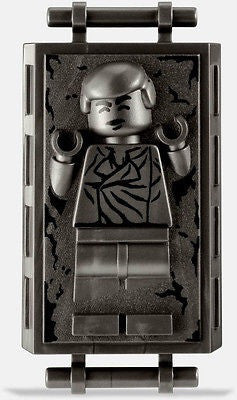 Lego Star Wars Han Solo in Carbonite 9516 figure