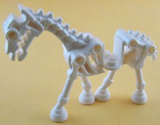 Lego Skeleton Horse figure