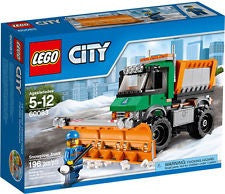 Lego City 60083 Snowplow Truck