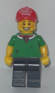 Lego Series 12 Pizza Delivery Guy figure