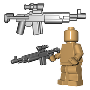 Brick Warriors Enhanced Warrior Rifle
