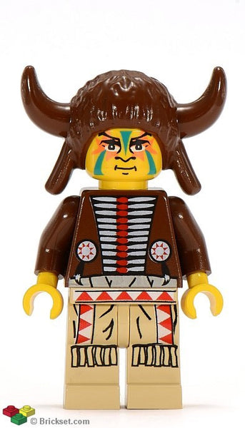 Lego Western Indian Medicine Men 6766 6763 6748 6718 2845 figure