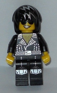 Lego Series 12 Rock Star figure