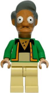Lego Series 1 Simpsons 71005: Apu Nahasapeema minifigure