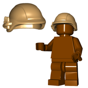 Brick Warriors Miltary Helmet
