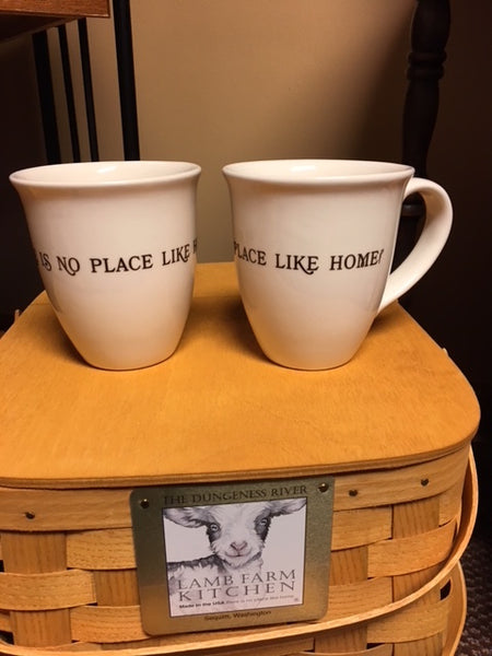 There's No Place Like Home Bistro Mug