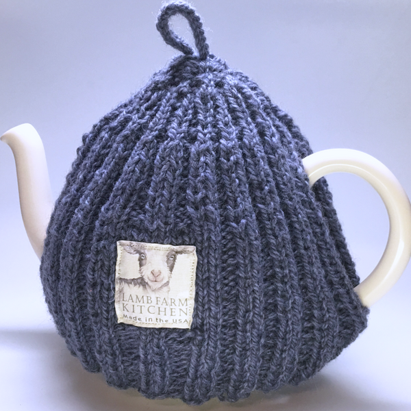 Hand-Knit Wool Tea Cosy