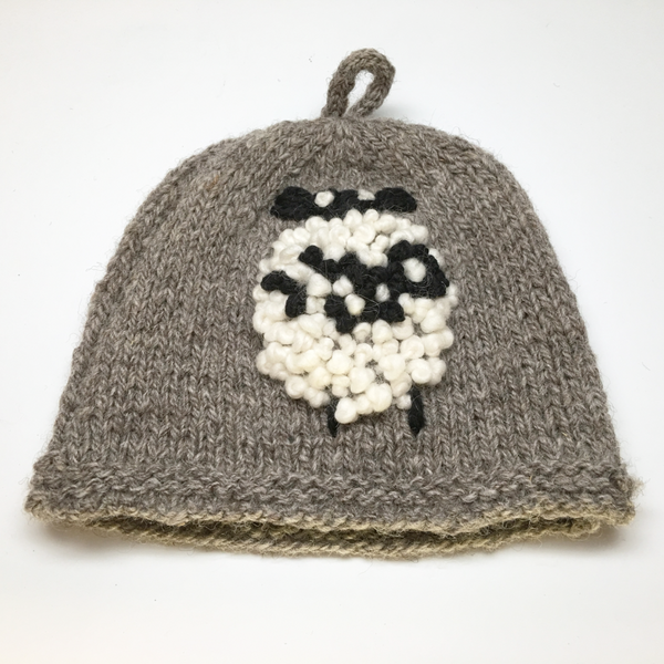 Lamb Farm Jacob Wool Tea Cosy