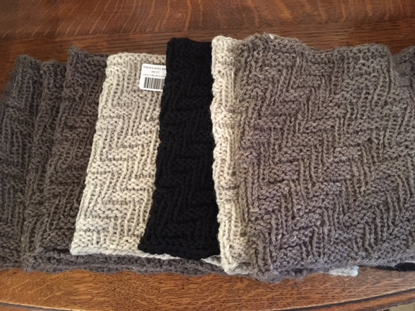 Wool Cowl Neck Scarf