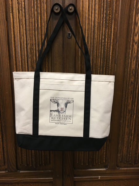 Lamb Farm Logo Tote Bag