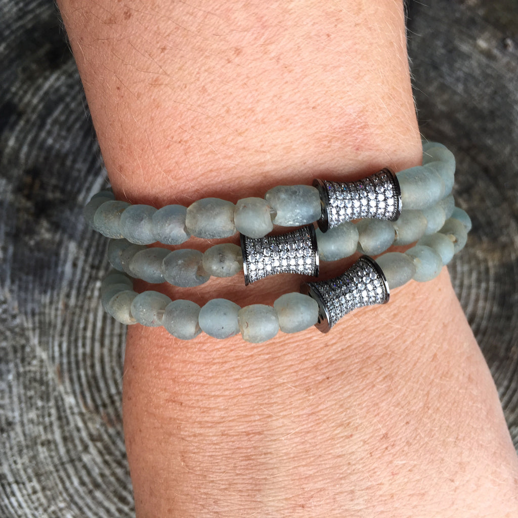 Lynn Collection - Griffith Grey Bracelet