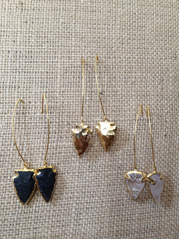 Aria Arrowhead Dangles